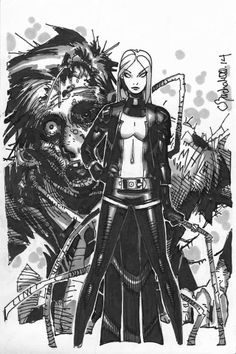 Emma Frost by Chris Bachalo *