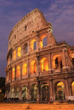Colosseum-Rome, Italy
