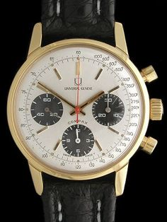 Universal Geneve Compax Chronograph Watch venus 178Repair by Farfo's Vintage Watches