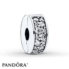 PANDORA Clip Shining Elegance Sterling Silver