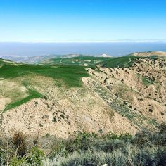 Spring green hilltops in Bitter Creek Wildlife Refuge California #hiking #camping #outdoors #nature #landscspes #WeAreAlive #beautiful