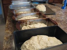 Making large batches of bread quickly. I think I would use part whole wheat flour and add some gluten to it. Maybe needs a little sugar to help the yeast?