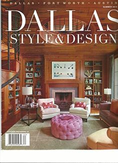 #manythings This auction is for the SUMMER, 2016 VOLUME,1 NUMBER,2 ISSUE OF #DALLAS #STYLE & DESIGN Magazine. The magazine is fresh, We'll pick the best available...