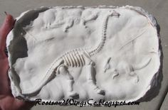 This looks super cool, but not sure if we can do it .  depends on # of kids - RootsAndWingsCo: Make your own Fossils