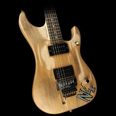 a283978a3ac Washburn Nuno Bettencourt N4 Authentic Signature Electric Guitar Distressed  Matte Natural