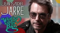 """Electronic music pioneer Jean-Michel Jarre goes shopping at Amoeba Music in Los Angeles. His latest album """"Oxygene is available on Sony/Columbia Records. Jean Michel Jarre, Dj Gear, Columbia Records, What In My Bag, Latest Albums, Electronic Music, My Bags, Music"""