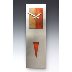 View all Leonie Lacouette clocks at http://www.sweetheartgallery.com/collections/leonie-lacouette-clocks-contemporary-artistic-designer-wall-clocks-pendulum-wall-clocks