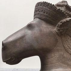Cheval de Tête #visnu #hayagriva #khmer #angkorwat #instamuseum #museeguimet #horse