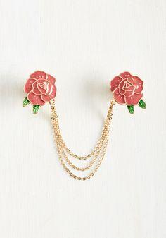 Make Bloom for Me Collar Pin, #ModCloth