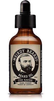 Weirdy Beardy - woodpecker (?!) beard oil