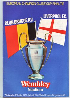 Liverpool v Club Brugge - 1978 European Cup final at Wembley