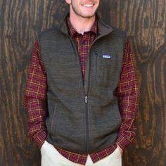 Patagonia Better Sweater Vests make the perfect gift for any guy! #bluesky