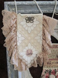Vintage French Boho Gypsy Lace One of A Kind by VintageVelvetGypsy, $35.00