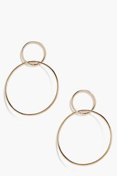 Kirsten Double Hoop Earrings