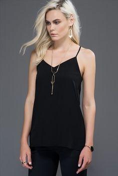 39tl Siyah Askılı Bluz MLWSS157824 Milla by trendyol | Trendyol