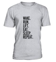 Run Sleep Repeat T-shirt