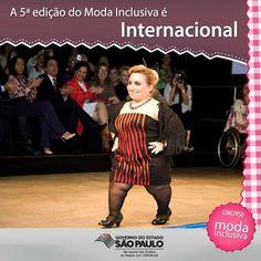 Concurso Moda Inclusiva revela vencedores em Desfile no dia 19 ~ PcD On-Line