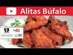 ALITAS BUFALO | BUFFALO WINGS | Vicky Receta Facil - YouTube