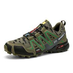 Outdoor Hiking And Running Sneakers - nikiluwa.com Non Slip Sneakers, Running Sneakers, Cycling Shoes, Hiking Shoes, Badminton, Waterproof Shoes, Keep Running, Sport Casual, Plein Air
