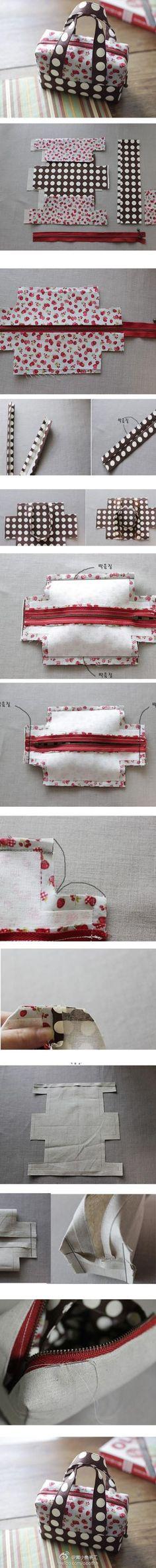 Nähmaschinen-Tasche  Diese und weitere Taschen auf www.designertaschen-shops.de entdecken