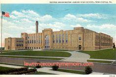 Lawrence County Memoirs: George Washington Junior High School - New Castle PA