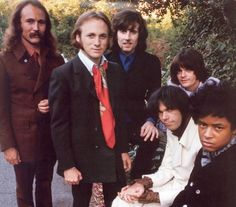 David Crosby, Stephen Stills, Graham Nash, Greg Reeves, Neil Young and Dallas Taylor Neil Young, Rock N Roll Music, Rock And Roll, Woodstock, Beatles, Dallas Taylor, Graham Nash, Crosby Stills & Nash, Stephen Stills