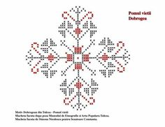 Pomul vietii Blackwork, Design Elements, Projects To Try, Cross Stitch, Traditional, Embroidery, Sewing, Tattoos, Snowflakes