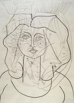 Pablo Picasso - Françoise Gilot