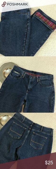 CE SCHMIDT Jeans Pink plaid Lining women's 12x30 Brand             : CE SCHMIDT Size               : women's 12 Style              : Jeans  Color              : Medium Wash Material           : 100% Cotton CE Schidt Jeans