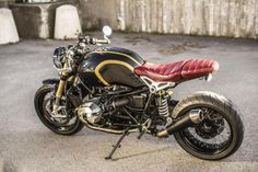Hey guys this is my ride. Bmw Motorcycles, Custom Motorcycles, Nine T, Creation Art, Bmw Boxer, Cafe Racing, Scooter Motorcycle, Café Racers, Mens Gear