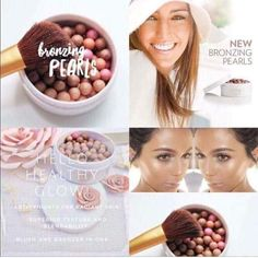 Fantastic look with these Bronzing pearls! Give your skin an instant sun-kissed glow. Tinted Moisturizer -Used by professional MUA's. Make Up Artists ⭐️ anti-aging ingredients,… Lip Plumping Balm, Bronzing Pearls, Eyelash Serum, Beauty Guide, Tinted Moisturizer, Color Correction, Anti Aging Skin Care, Bronzer, Beads