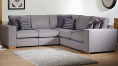 Fabric Sofas   The Milton Range   Modular sofa