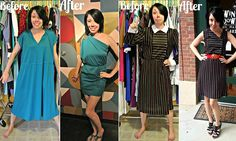 Meet the designer turning 'ugly' vintage finds into chic new outfits. Very clever!