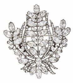 Bridal Crystal Pin