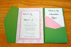 DIY invitations #wedding #invitations chelsea-gets-married