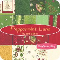 Peppermint Lane Yardage Sue Zipkin for Clothworks Fabrics - Fat Quarter Shop