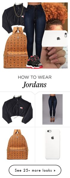 """Back2school #12"" by msixo on Polyvore featuring MCM, Lord & Taylor and Retrò"