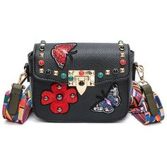 3ecedde53a Embroidery Women Messenger Bag Luxury Handbags Women Bag Designer Rivet Female  Shoulder Bags Famous Brand Crossbody
