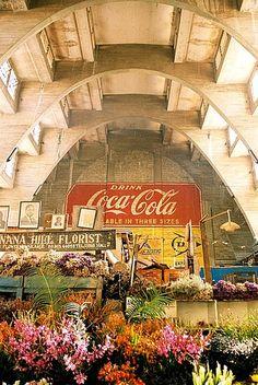Indoor Market Central Nairobi, Kenya