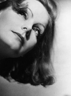 """""""Her gift transcended her art form. Even in still photos, her face is compelling, fascinating …She was far more than a movie star—she was Garbo"""" ~ David Wolfe"""