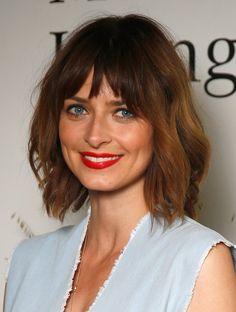 """Pin for Later: """"Brond"""" ist die perfekte Haarfarbe für die Übergangszeit Eva Padberg"""
