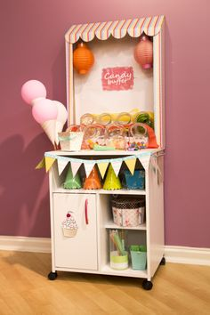 Do it yourself - Candy cart