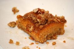Old World Pumpkin Bars (from The Gingered Whisk) -SRC Post!