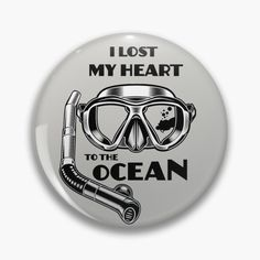 I Lost my Heart to the Ocean by StudioIdea | Redbubble Losing Me, My Heart, Embellishments, Lost, Ocean, Stickers, Paper, Ornaments, The Ocean