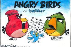 Zapiro: Juju vs Fikile: The angry birds of Twitter - Mail & Guardian