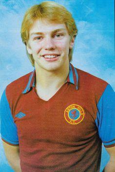 Gary Shaw of Aston Villa in 1980.