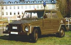Ex army Volkswagen 181 used by military police