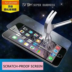 2016 hot templado FOR iphone 6 plus glass tempered glass screen protector film on for iPhone 6s plus glass Screen Protector film