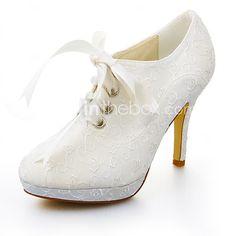Women's Wedding Shoes Heels / Platform Heels Wedding / Dress Ivory / White - EUR €44.09