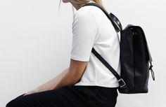 Black rucksack. www.publicdesire.com
